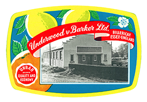 Underwood & Barker label 1
